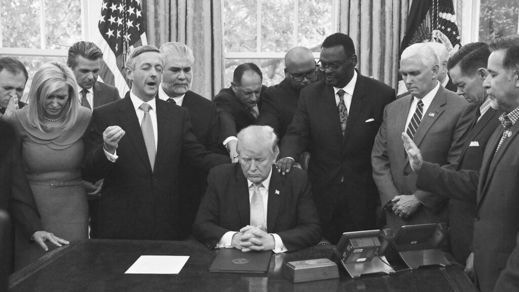 Trump Oval Office Prayer